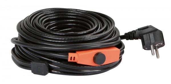 Frostschutz-Heizleitung mit Thermostat, 230 V, in verschiedenen Längen erhältlich