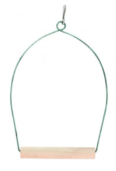 Bogenschaukel für den Vogelkäfig, Breite 10 cm, Höhe 20 cm