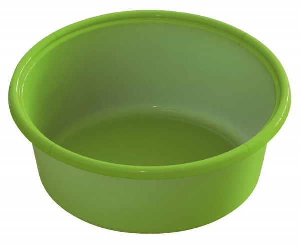 Futterschale aus Kunststoff, lebensmittelecht, Farbe grün