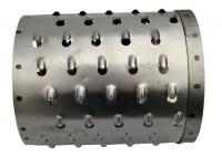 Ersatzwalze aus Stahl für die Rübenmühle mit Fußgestell, Futtermuser