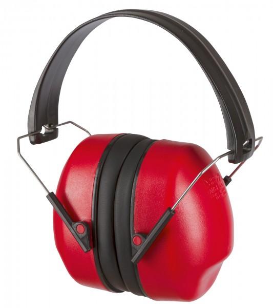Klappbarer Kapselgehörschutz, platzsparend und einfach mitführbar