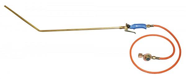 Euterhaarentferner PREVENTA mit Gasflaschenanschluss
