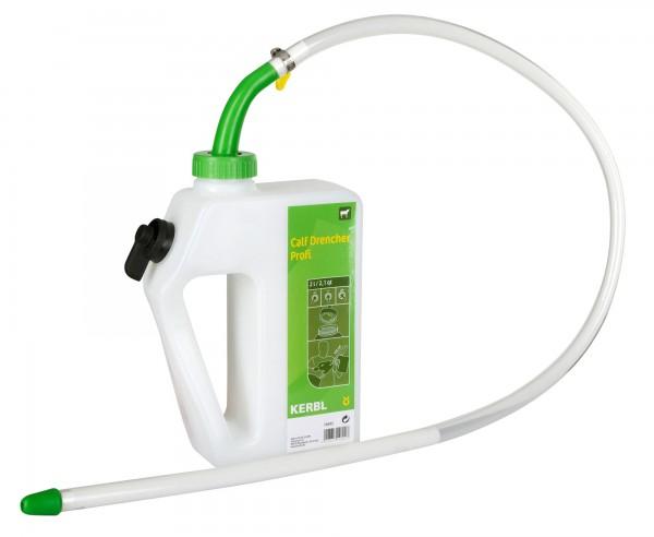 Calf Drencher Profi mit flexibler Sonde 105 cm mit Schraubverschluss, 2 Liter Inhalt