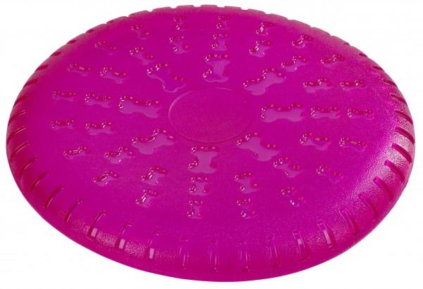 Hunde Frisbee aus thermoelastischem Gummi, ideales Spielzeug für den Bewegungsdrang Ihres Tieres