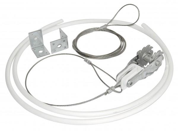 Abspannset diagonal für Premium Horse Wire und Stahldraht, Komplettset
