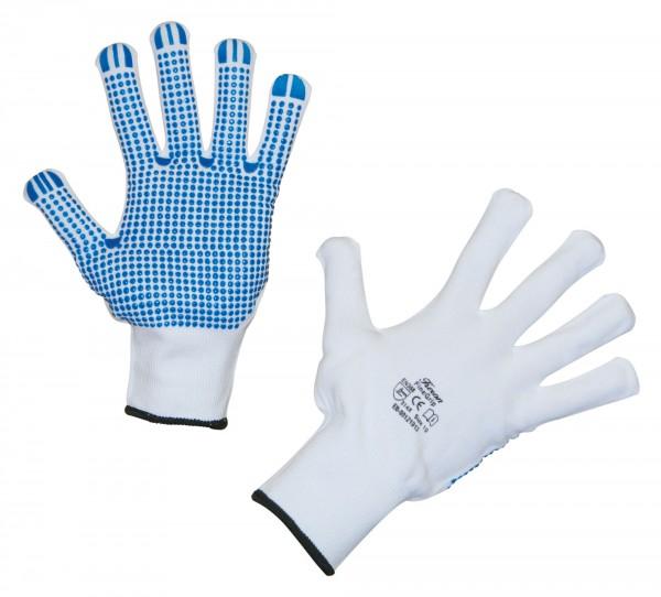 Feinstrickhandschuh FineGrip mit hervorragendem Griff und sicherem Tastgefühl durch Flachnoppen an Fingerspitzen