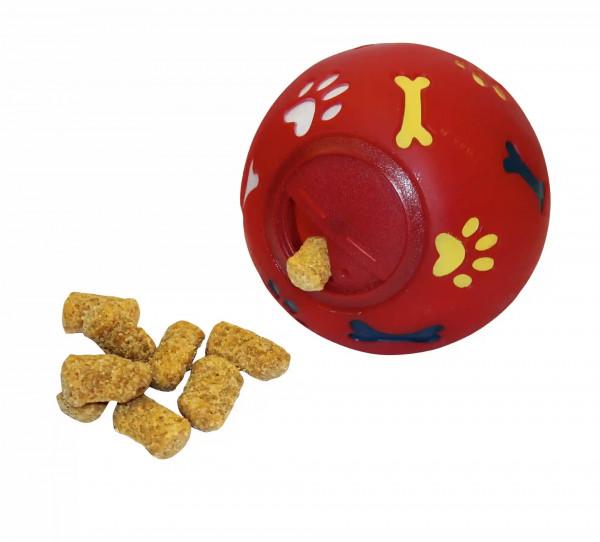 Mit dem Snackball bieten Sie Ihrem Liebling stundenlanges Training, Spaß und Spielvergnügen