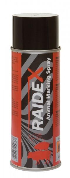 Markierungsspray RAIDEX für Schweine, Rinder, Ziegen Farbspray rot