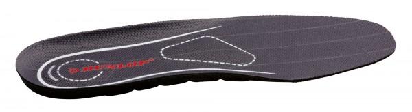 Einlegesohle Dunlop Premium mit ergonomisch geformtem Fußbett für hohen Komfort