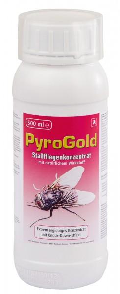 Stallfliegenkonzentrat PyroGold* zur wirksamen Bekämpfung von Fliegen und kriechenden Insekten