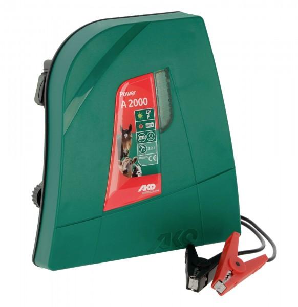 Power A 2000 Weidezaungerät für Pferde- und Rinderkoppeln geeignet