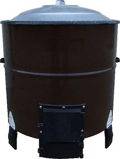 Wasch- und Kochkessel ohne Auslaufhahn, für feste Brennstoffe