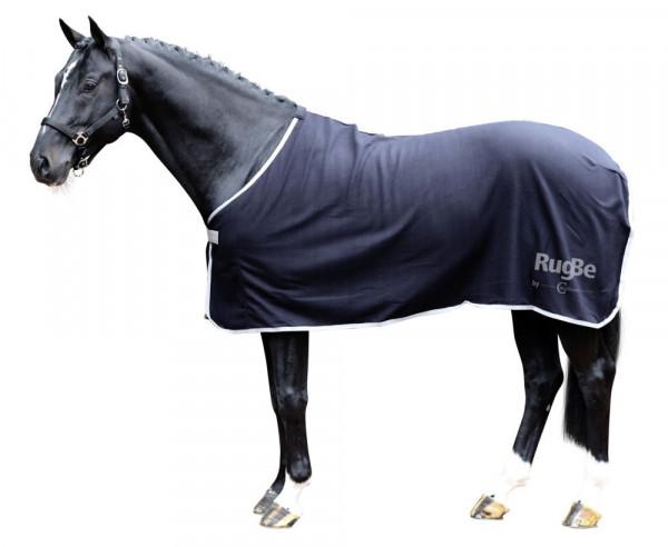 RugBe Economic, praktisch mit Brustverschnallung und Schweifriemen, schwarz