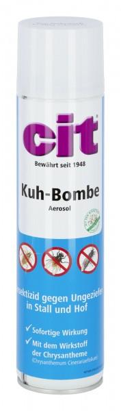 Cit Kuhbombe* speziell zur Bekämpfung von Ungeziefern wie Fliegen und Bremsen in Ställen