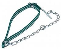 Kälberanbindung Standard für normale Beanspruchung komplett mit Halsband und Kettenteil
