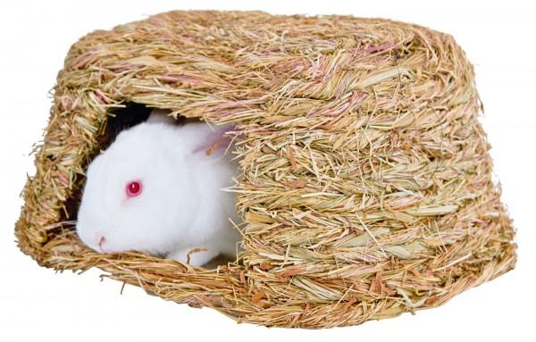 Grashaus für kleinere Nager, Knabberhaus, Höhle und Unterschlupf für Nagetiere