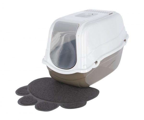 Toilettenvorleger für Katzenklos, für jede Toilettenart geeignet