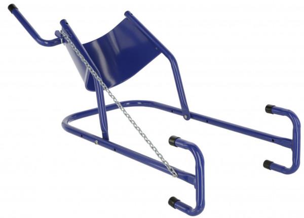 Kopfstütze für Rinder, blaue Stütze zur einfachen und sicheren Fixierung des Kopfes