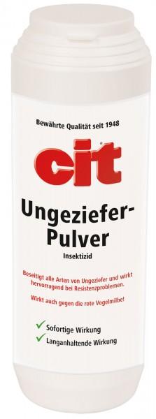 Cit Ungezieferpulver*, Gift-Pulver zur Bekämpfung kriechender Insekten und Milben