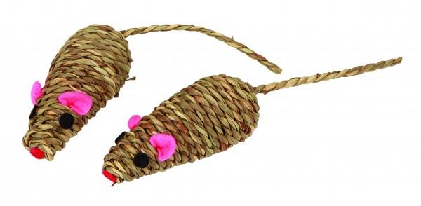 Katzenspielzeug aus natürlichem Seegras, 6 Stück