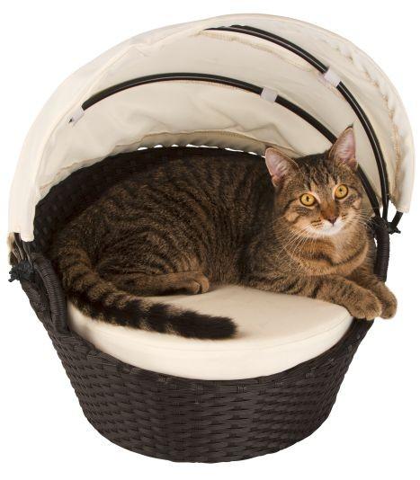 Katzenlounge Chillout, Katzenliege, Gartenliege