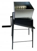 Rübenmühle mit Fußgestell komplett aus Stahl gefertigt und farblich beschichtet