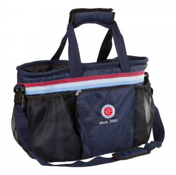 Turnier- und Putztasche mit 5 Netztaschen und einer großen, verschließbaren Außentasche