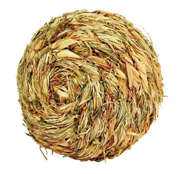 Ball aus natürlich getrocknetem Gras, 13 cm