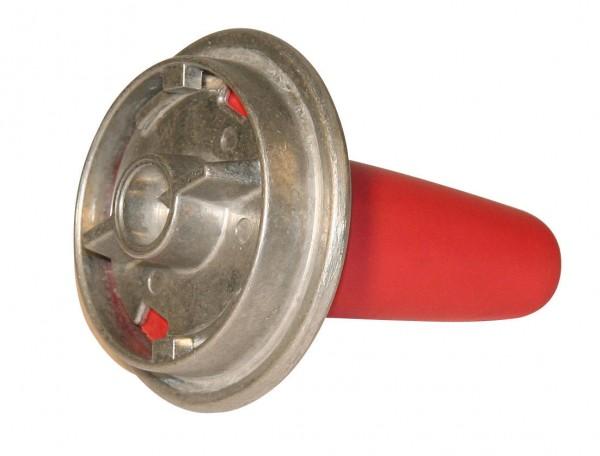 Alu-Kälbertränkeventil mit Sauger, mit Bajonettverschluss sehr hygienisch