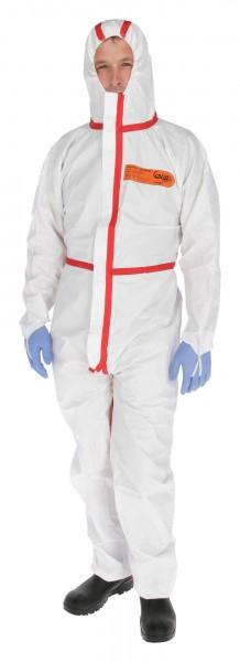 Sprühdichter Chemikalienschutz-Overall KAT III, für den Einsatz mit Pflanzenschutzmitteln geeignet