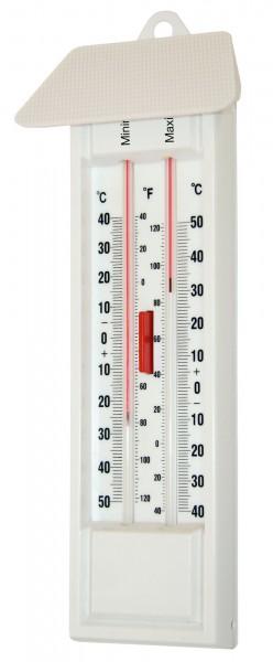 Maximum-Minimum Thermometer für den Aussen- und Innenbereich geeignet, ohne Quecksilber