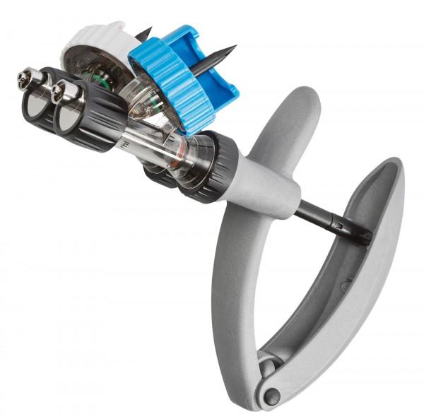 HSW ECO-MATIC® Twin Premium Kunststoffspritze mit 2 separaten Zylindern aus hochfestem Kunststoff