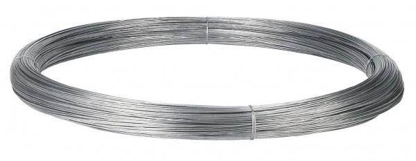 Spezial-Stahldraht für Festzaun Zink/Alu-Legierung als Lankzeitschutz für den Festzaunbau