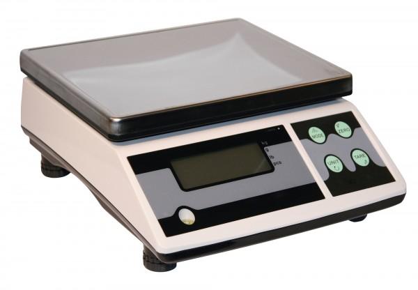Tischwaage digital bis 30 kg, mit Edelstahlplattform