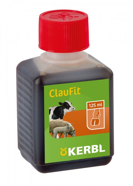Klauenpflege Tinktur CLAUFIT, 125 ml für Rinder, Schafe und Pferde