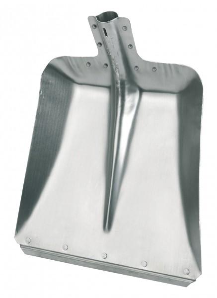 Aluschaufel mit verzinkter Stoßkante und einer Materialstärke von 2 mm