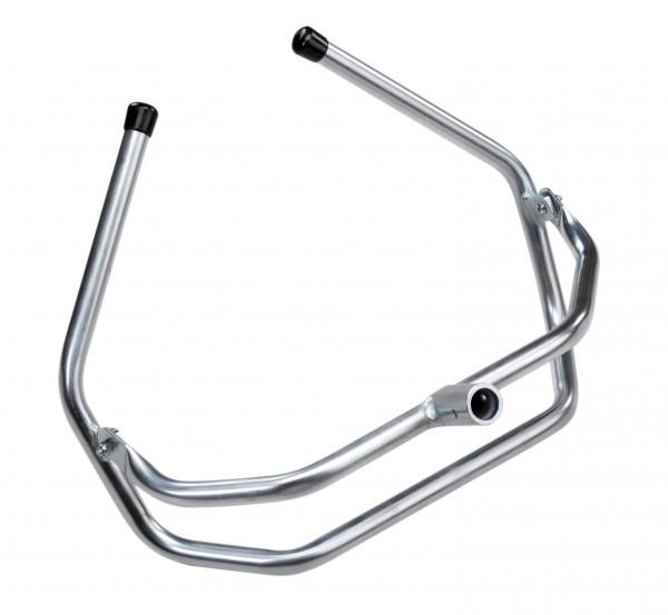 HK-Flexi Bügel mit kippbarem Haltebügel für optimale Anpassung an das Becken