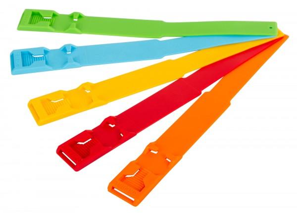 Fesselbänder - Das Original, patentiert zur Langzeitmarkierung von Tierbeständen