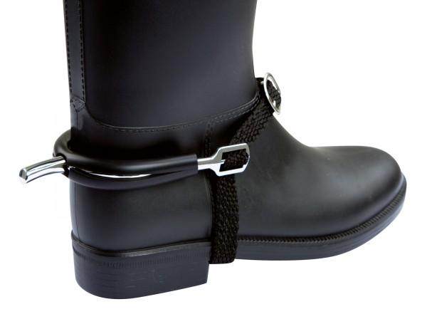 Sporenstiefelschutz Gummi, weicher Gummi schützt den Stiefel vor Abreibung und Beschädigung