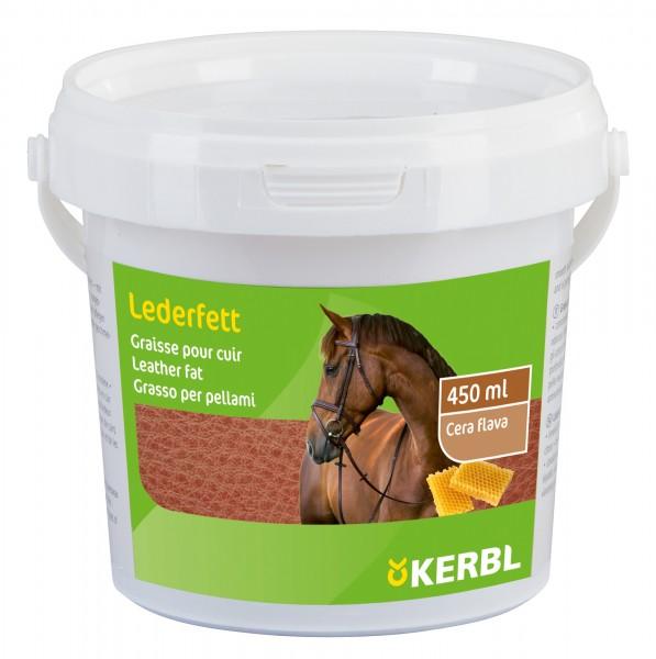 Lederfett mit Bienenwachs schützt Leder vor Nässe, Schimmelbefall und Bruch, 450 ml