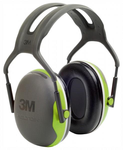 Gehörschutz Peltor X4A mit neuartigem, patentiertem Schaumstoff in den Dichtungsringen für einen effektiven Schutz