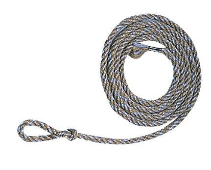 Kälberstricke aus Jute und Kunstfaser im 10er Pack, 180 cm lang, Durchmesser 8 mm
