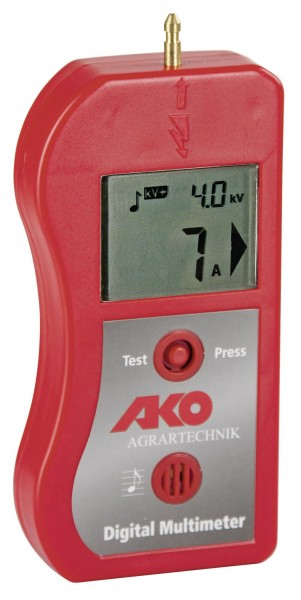 Ako Multimeter Duogerät zur Fehlersuche im Elektrozaun, Spannungsprüfer und Amperemeter