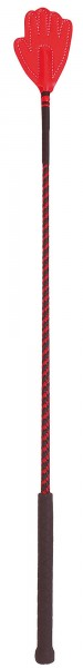 Springgerte mit Handklatsche 65 cm lang in verschiedenen Farben, sortiert