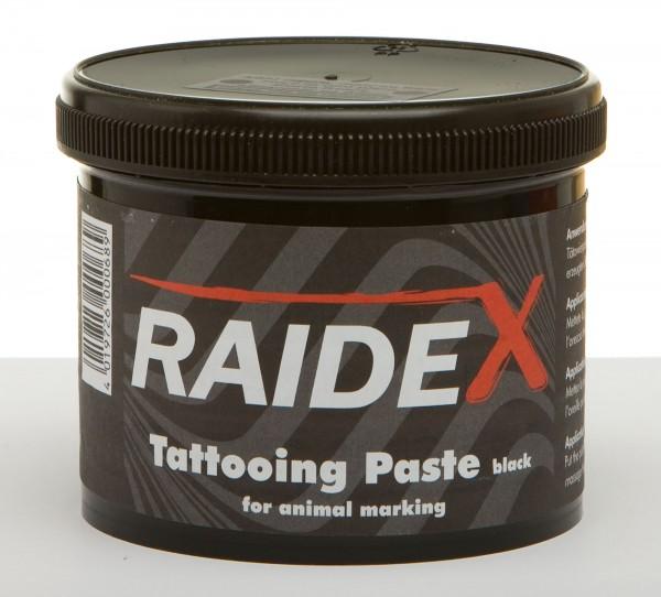 Tätowierpaste schwarz, gebrauchsfertige Tattoopaste in der Dose, 600 g