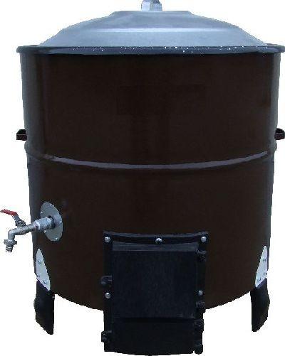 Kochkessel, Schlachtekessel mit Auslauf, 75 Liter Inhalt