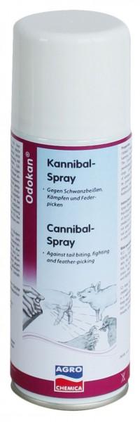 Kannibal-Spray Odokan® gegen Schwanzbeißen und Federpicken zum Einsatz in der Schweine- und Geflügelzucht, 200 ml