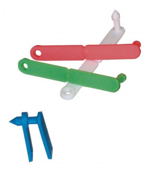 Twintag Ohrmarken blanko, erhältlich in den Farben gelb, rot. grün, weiß und blau