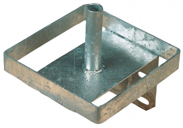 eckiger Lecksteinhalter aus Metall für große Salzsteine geeignet, Wandmontage