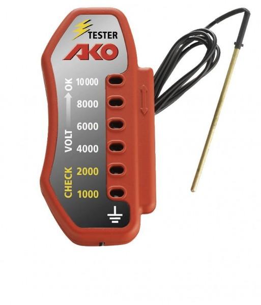 Zaunprüfer AKO, Spannungs-Prüfer für Elektro-Weidezaun misst 6stufig bis 10.000 Volt